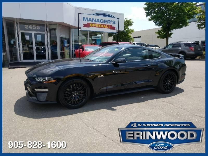 2018 Ford Mustang GT - CPO 24M @2.9-20,000KM EXT WARRANTY