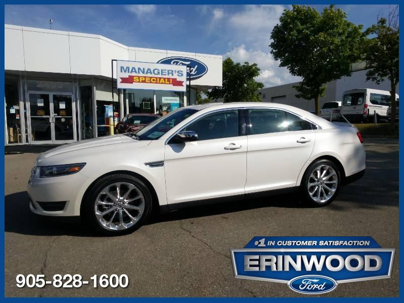 2018 Ford Taurus Limited - CPO 24M @2.9-20,000KM EXT WARRANTY