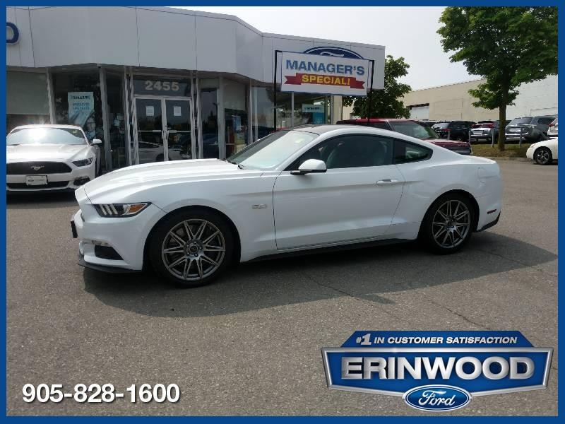 2017 Ford Mustang GT - CPO 24M @2.9-20,000KM EXT WARRANTY