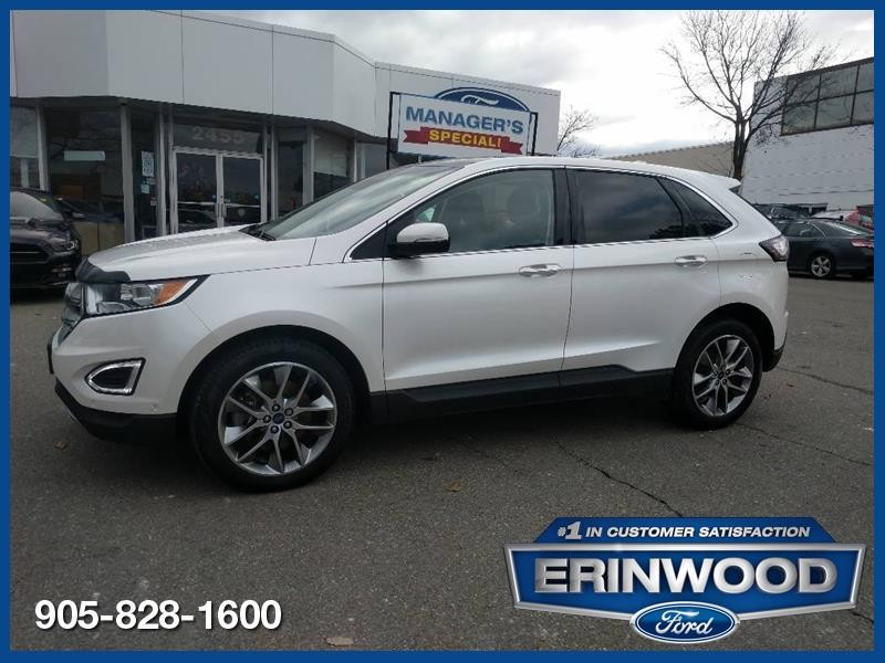 2016 Ford Edge Titanium - CPO 24M @2.9-20,000KM EXT WARRANTY