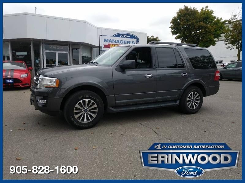 2017 Ford Expedition XLT - CPO 24M @2.9-20,000KM EXT WARRANTY