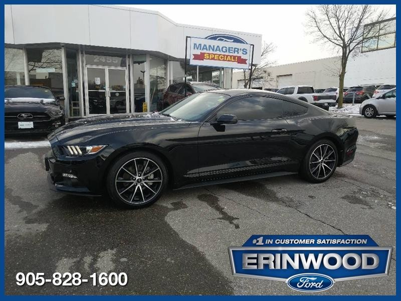 2017 Ford Mustang Premium Coupe - CPO 24M @2.9-20,000KM EXT WARRANTY