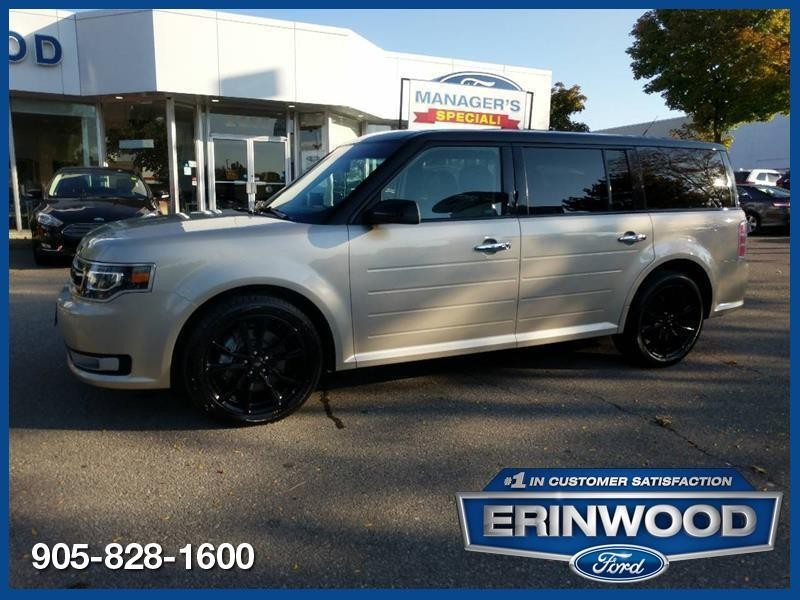 2018 Ford Flex Limited - CPO 24M @2.9-20,000KM EXT WARRANTY