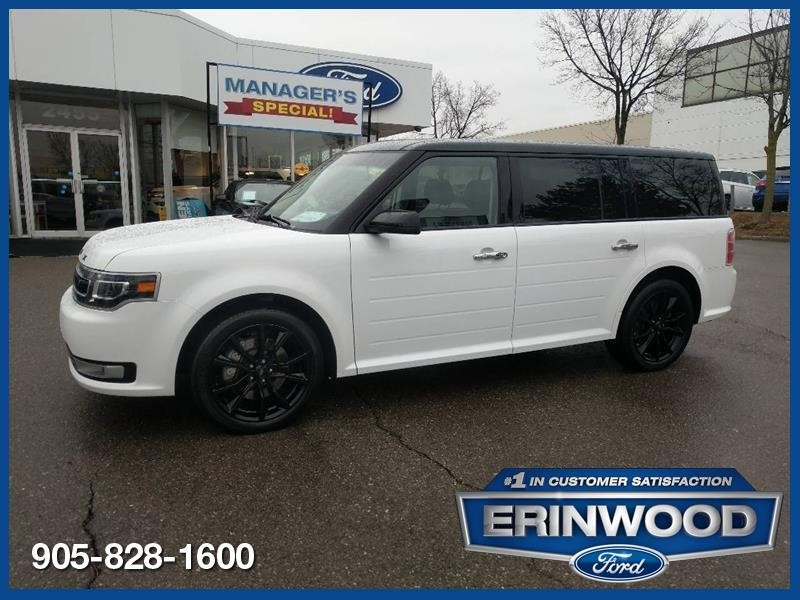 2019 Ford Flex Limited - CPO 24M @2.9-20,000KM EXT WARRANTY